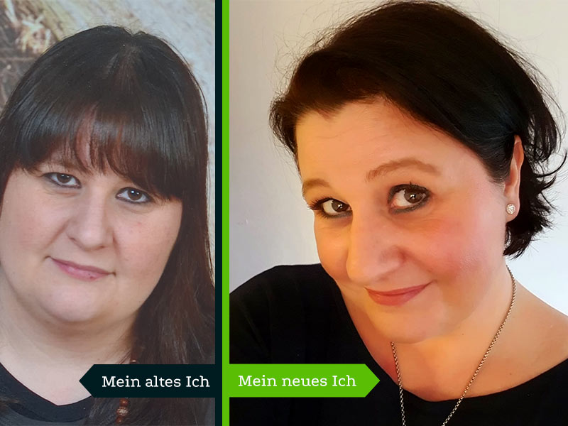 Anja Hess Ernährungscoach – Vorher-Nachher-Bild