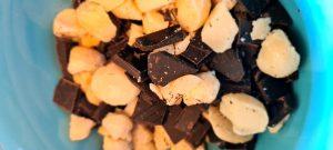 Macadamia und 100% Schoki
