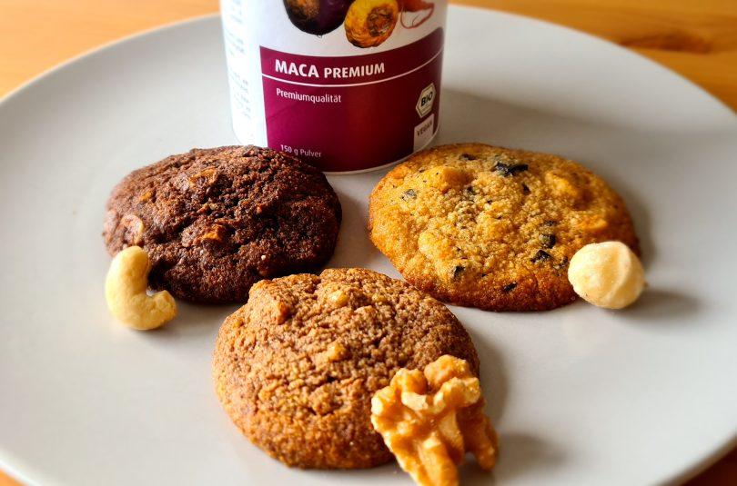 Macadamia-Maca-Cookies